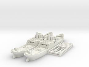 EFC 1020 'Laker' WW1 Freighter 1/600 & 1/700 in White Natural Versatile Plastic: 1:600