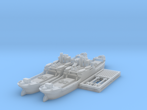 EFC 1020 'Laker' WW1 Freighter 1/600 & 1/700 in Smooth Fine Detail Plastic: 1:600