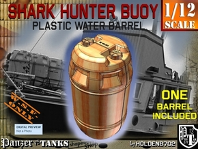 1-12 Shark Hunter Barrel in Yellow Processed Versatile Plastic
