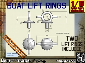 1-6 Lift Ring For Boat in White Processed Versatile Plastic