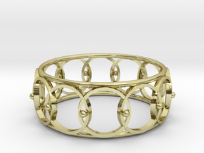 Melancholy Cuff, SMK   in 18k Gold Plated