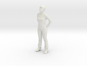 Printle C Femme 492 - 1/87 - wob in White Natural Versatile Plastic