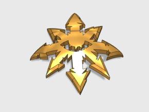 30x Dark Legion : Shoulder Insignia pack in Frosted Extreme Detail
