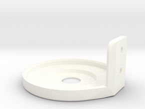 Netatmo wall mount holder in White Strong & Flexible Polished