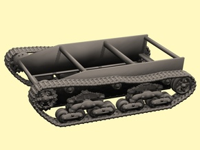28mm Wk6 tracked chassis in White Strong & Flexible Polished