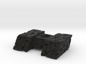 Borg Assimilator 70mm Attack Wing in Black Natural Versatile Plastic