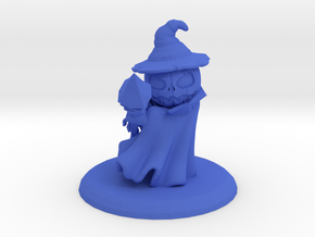 ALISON THE PUMPKIN WITCH in Blue Processed Versatile Plastic