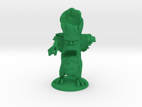 LARRY THE EVIL TREE in Green Processed Versatile Plastic