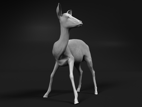 Impala 1:35 Watchful Female While Drinking in Smooth Fine Detail Plastic