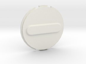 Canary 1 Privacy Cover Lens Cap in White Natural Versatile Plastic