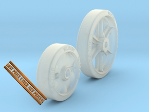 1-24 M5 Stuart Road+Idler Wheels Sample Set2 in Smooth Fine Detail Plastic