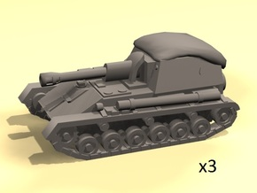 1/160 SU-76M spg in White Strong & Flexible