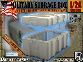 1-24 Military Storage Box For FUD in Smooth Fine Detail Plastic