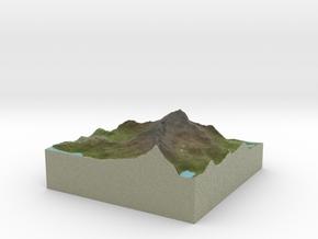 Terrafab generated model Fri Apr 21 2017 21:42:55  in Full Color Sandstone
