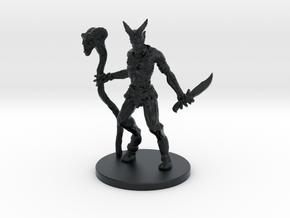 Evil Goat in Black Hi-Def Acrylate
