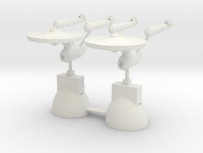 Star Trek Knights in White Natural Versatile Plastic