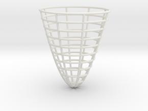 Simple Pendulum Hamiltonian Energy Surface in White Natural Versatile Plastic