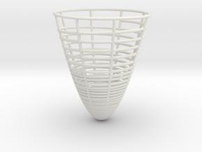 Simple Pendulum Energy Decay in White Natural Versatile Plastic