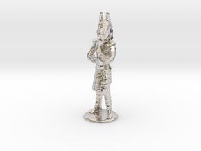 Jackal Guard Firing 35 new in Rhodium Plated Brass