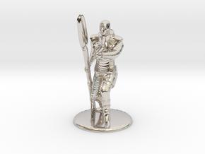 Jaffa Firing Zat 35 mm new in Rhodium Plated Brass