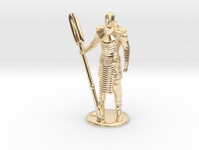 Jaffa Standing Relaxed 35 mm new in 14k Gold Plated Brass