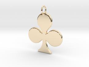 Trebol in 14k Gold Plated Brass