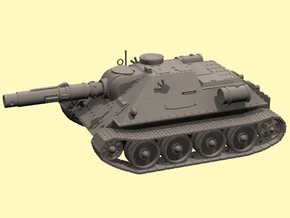 15mm Ice Guards SU-122M (fictional) in Smooth Fine Detail Plastic