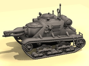 15mm Burner-Storm vehicle in White Strong & Flexible