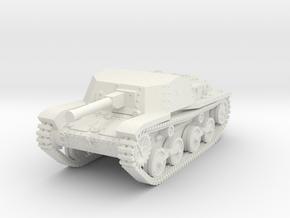 1/144 Type 5 Ho-Ru tank destroyer in White Natural Versatile Plastic
