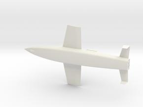 1:144  Silbervogel in White Natural Versatile Plastic