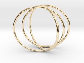 The Sixth Sense Ring in 14k Gold Plated Brass