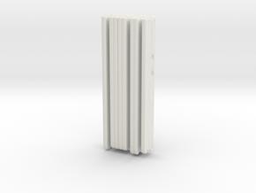 1/87 Philadelphia ALF Hose Loads in White Natural Versatile Plastic