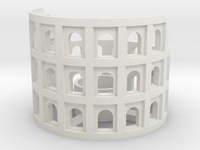 Colosseum in White Strong & Flexible: Medium