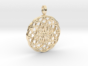 ANCIENT PULSAR in 14K Yellow Gold