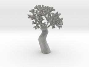 A fractal tree in Metallic Plastic