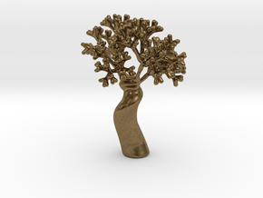 A fractal tree in Natural Bronze