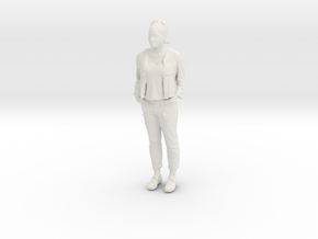 Printle C Femme 646 - 1/24 - wob in White Natural Versatile Plastic