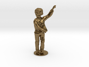 Flamenco boy in Natural Bronze
