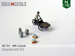 Milk tricycle (N 1:160) in Frosted Extreme Detail