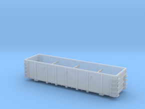 FCA Aggregate Gondola - Zscale in Smooth Fine Detail Plastic
