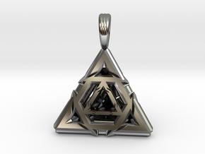 TRI-CEPTAGON in Premium Silver