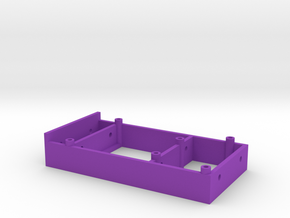 Arduino Mount (2020 T-Slot) in Purple Processed Versatile Plastic