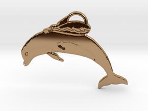 Unusual Ocean Friends in Polished Brass: Large