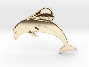 Unusual Ocean Friends in 14k Gold Plated Brass: Large