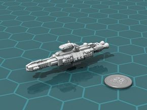 Chukulak Heavy Cruiser in White Natural Versatile Plastic