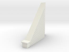 Tunnel biais cote gauche in White Natural Versatile Plastic