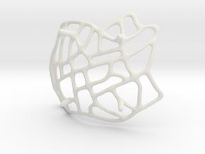 Roadmap Bowl in White Natural Versatile Plastic
