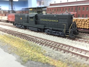 Baldwin RT-624 Center Cab N Scale 1:160  in Smooth Fine Detail Plastic