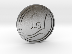 """""""The Layton Series 10th Anniversary 2017"""" coin in Natural Silver"""