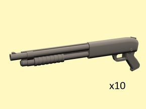 28mm Pump-action shotguns  in Frosted Extreme Detail